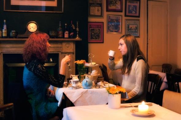 Tea Room at the Coach & Horses
