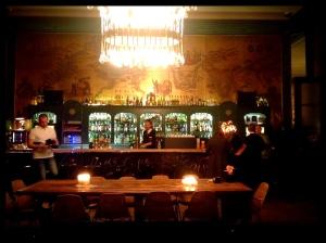 Goldenen Bar im Haus der Kunst