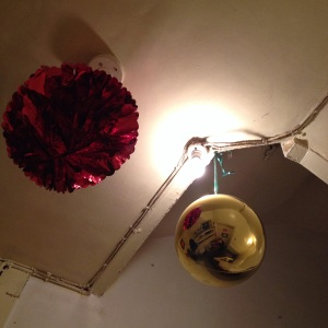 Even the Christmas decorations look as though they might be an Eggleston photo